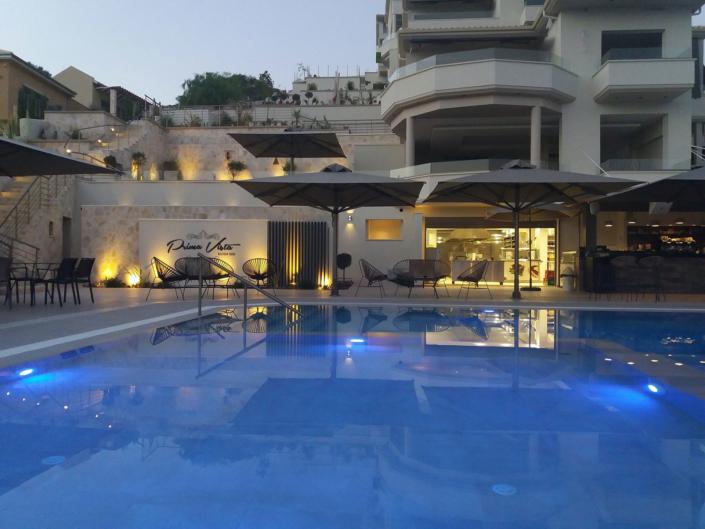 "Exterior Design & Architecture of ""Prima Vista"" Hotel atg Sivota Greece"