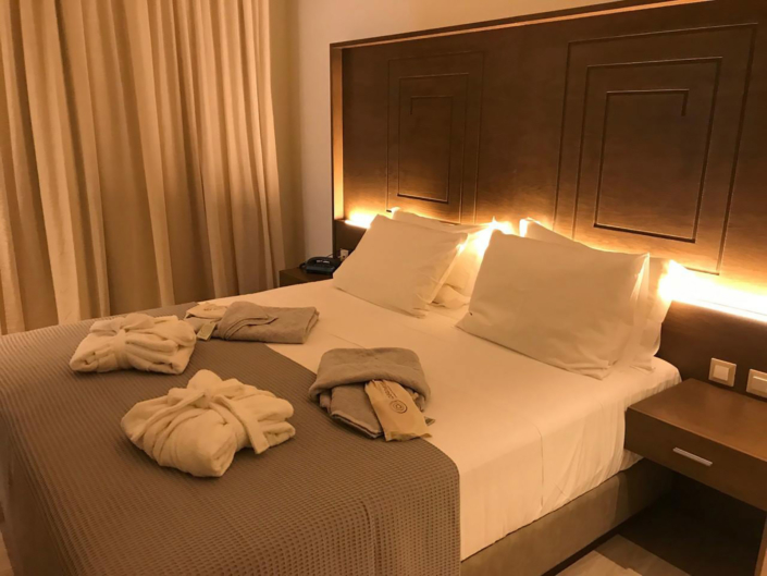 "Interior Design ""Prima Vista Hotel"" Bedroom overview"
