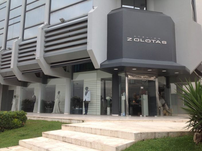 "Exterior Design Architecture ""Atelier Zolotas"" Full view left"
