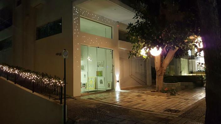 "Exterior Design ""Art Gallery"" night"