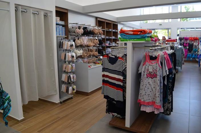 "Interior Design ""Galdera"" Store Pajamas corner"