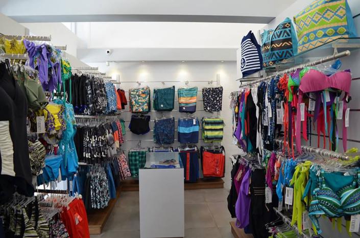 "Interior Design ""Galdera"" Store Swimmwear corner"