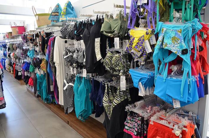 """Interior Design """"Galdera"""" Store Womens Swimmwear corner"""