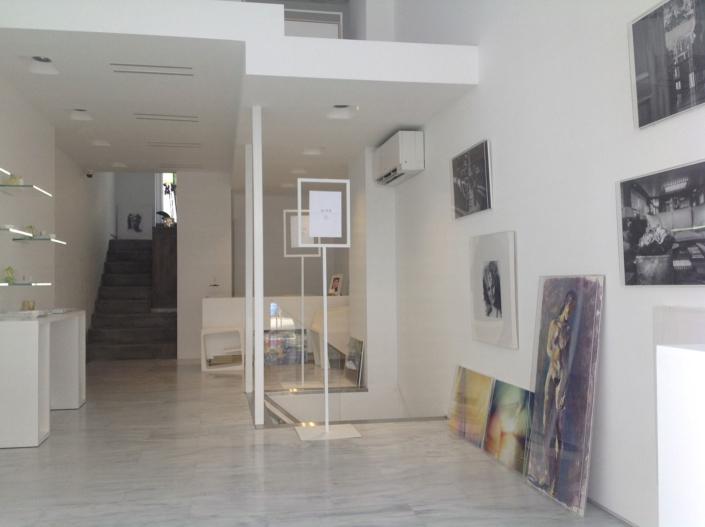 "Interior Design ""Art Gallery"" Store right view"