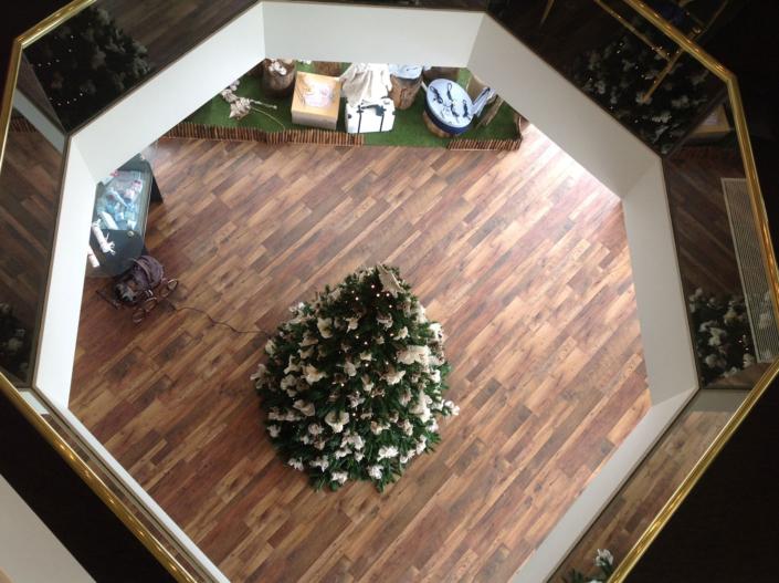 "Interior Design ""Atelier Zolotas"" 1st floor to Ground view"