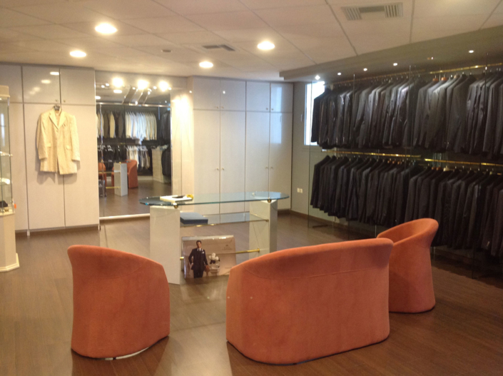 "Interior Design ""Atelier Zolotas"" 1st floor mans waiting room"