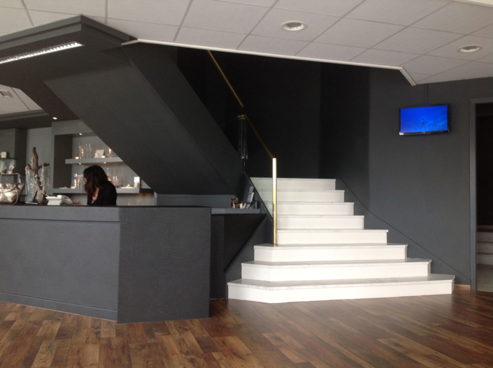 "Interior Design ""Atelier Zolotas"" reception"